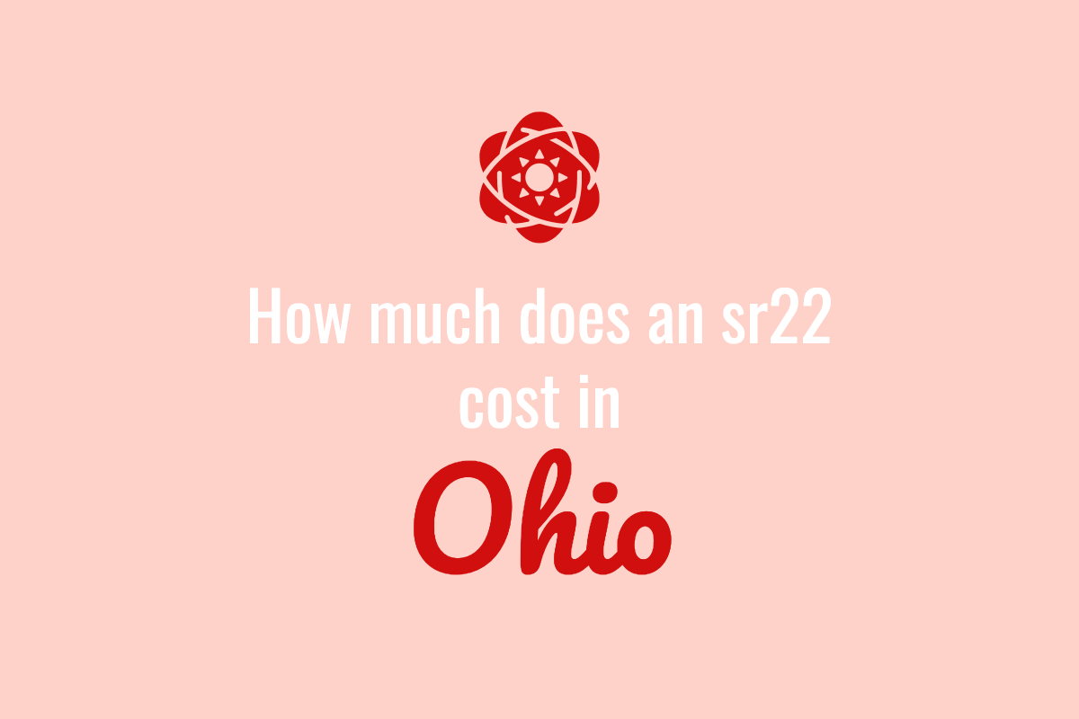 how much does an SR 22 cost in Ohio
